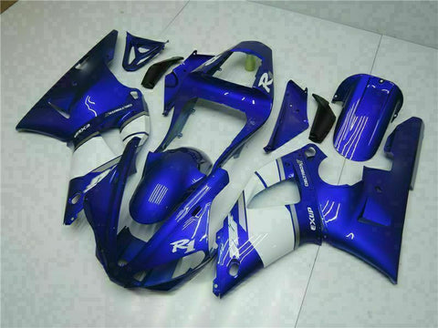 MSB Injection Mold Kit Blue ABS Fairing Fit for Yamaha 2000-2001 YZF R1 j002-01