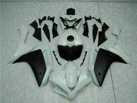 MSB Injection Kit White Plastic Fairing Fit for Yamaha 2007--2008 YZF R1 j030