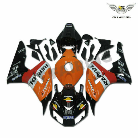 MS Injection Molded Orange Fairing Kit Fit for Honda 2006-2007 CBR1000RR u098
