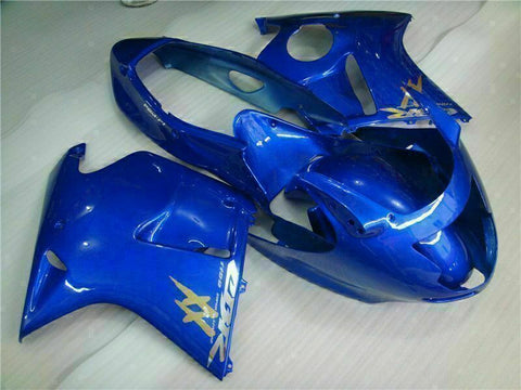 MS Injection Blue Fairing ABS Plastic Kit Fit for Honda 1996-2007 CBR1100XX u007