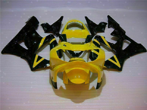 MS Injection Mold Fairing Yellow Black Kit Fit for Honda 2000-2001 CBR929RR u011