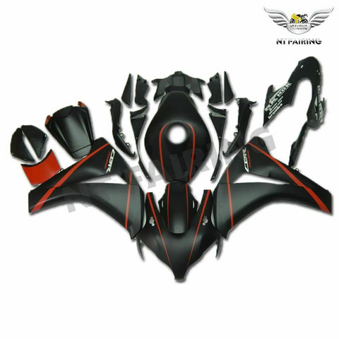 MS Injection Mold Red Black Fairing Kit Fit for Honda 2008-2011 CBR1000RR u088