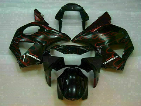 MS Injection Red Flame Fairing Kit Fit for Honda 2002 2003 CBR954RR 900RR u002