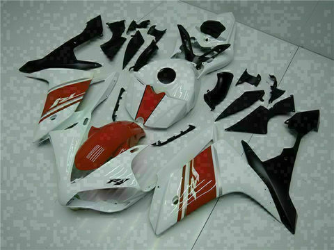 MSB Injection New White Plastic Fairing Fit for Yamaha 2007-2008 YZF R1 g031