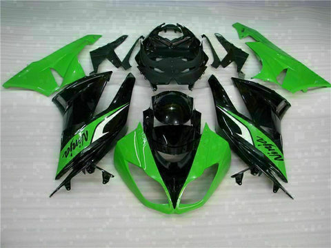 MSA Injection Fairing Fit for Kawasaki 2009-2012 ZX6R Plastic With Seat Cowls t030-T