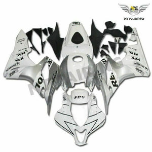 MSA Injection ABS Fairing White Fit for Honda 2007-2008 CBR600RR Plastic t040