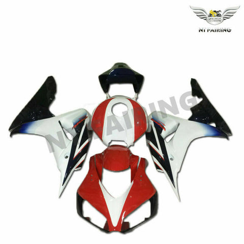 MS Injection Red White Plastic Fairing Fit for Honda 2006-2007 CBR1000RR u0126
