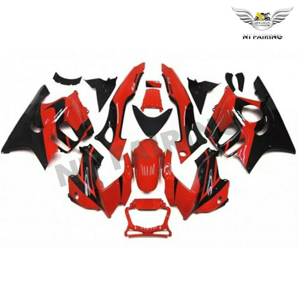 MSA ABS Red Plastic Injection Fairing Fit for Honda 1997-1998 CBR600F3 u024