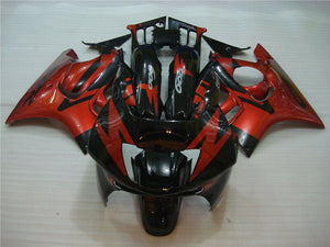 MSA Red Black Injection Mold Fairing Fit for Honda 1995-1996 CBR600F3 u014