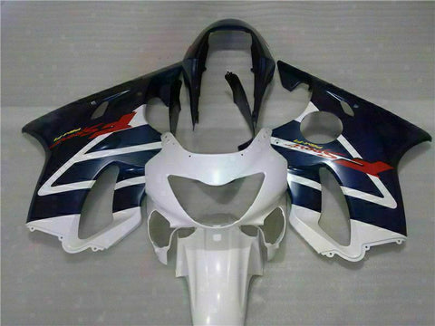 MS White Black Fairing Injection Fit for Honda 1999-2000 CBR600 F4 ABS Plastic u032