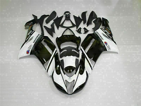 MSA Fit for Kawasaki 2007 2008 ZX6R Plastics With Seat Cowl Injection Fairing t003-T