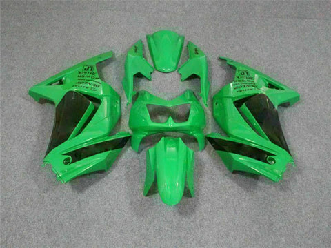 MS Fit for Kawasaki 2008-2012 EX250 250R Plastic Green Injection Fairing t044-01