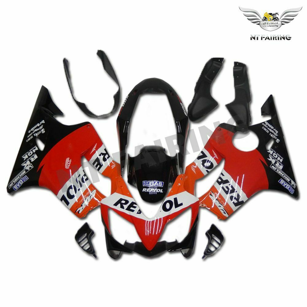 MS Injection Mold Fairing Orange ABS Kit Fit for Honda 2004-2007 CBR600 F4I u026