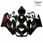 MSA Injection Mold Red Flames Fairing Fit for Honda 2004-2005 CBR1000RR WTH u001