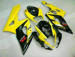 MS Injection Mold Yellow Black Fairing Fit for Suzuki 2005-2006 GSXR 1000 q011