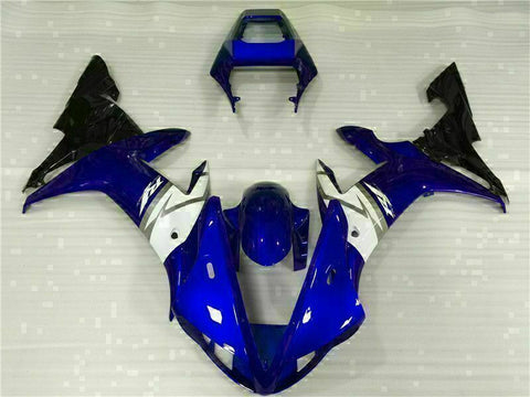 MSB Injection Mold Kit Blue ABS Fairing Fit for Yamaha 2002-2003 YZF R1 j017-02