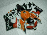 MSA Injection  Orange Fairing Set Fit for Honda 2007-2008 CBR600RR Cowl u068
