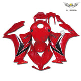 MS Injection Plastic Red Fairing ABS Kit Fit for Honda 2012-2016 CBR1000RR u012