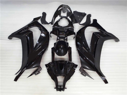 NT Aftermarket Injection ABS Plastic Fairing Fit for ZX10R 2011-2015 Glossy Matte Black N002 Available in TX