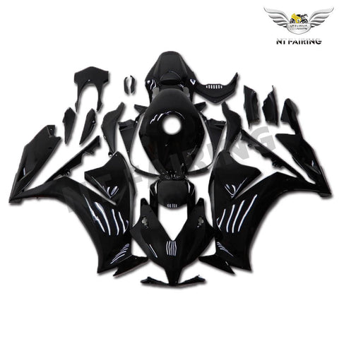 NT Aftermarket Injection ABS Plastic Fairing Fit for CBR1000RR 2012-2016 Glossy Black N003