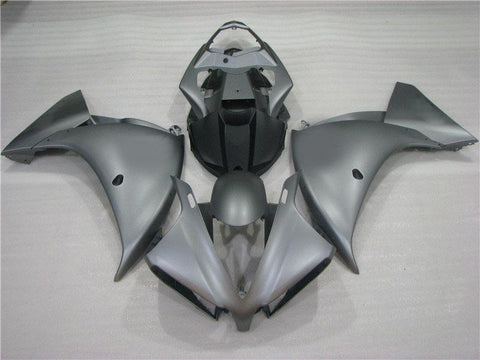 NT Aftermarket Injection ABS Plastic Fairing Fit for YZF R1 2012-2014 Matte Gray N005