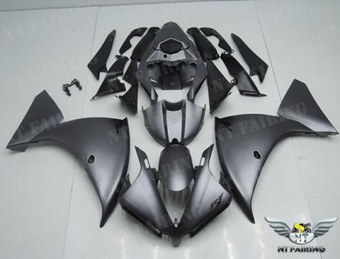 NT Aftermarket Injection ABS Plastic Fairing Fit for YZF R1 2012-2014 Gray N018
