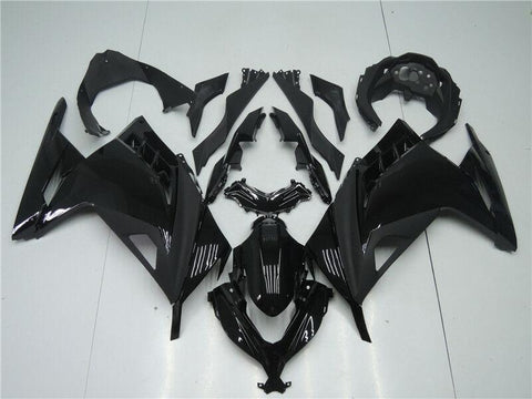 NT Aftermarket Injection ABS Plastic Fairing Fit for EX300 2013-2016 Glossy  Matte Black N003 Available in CA TX