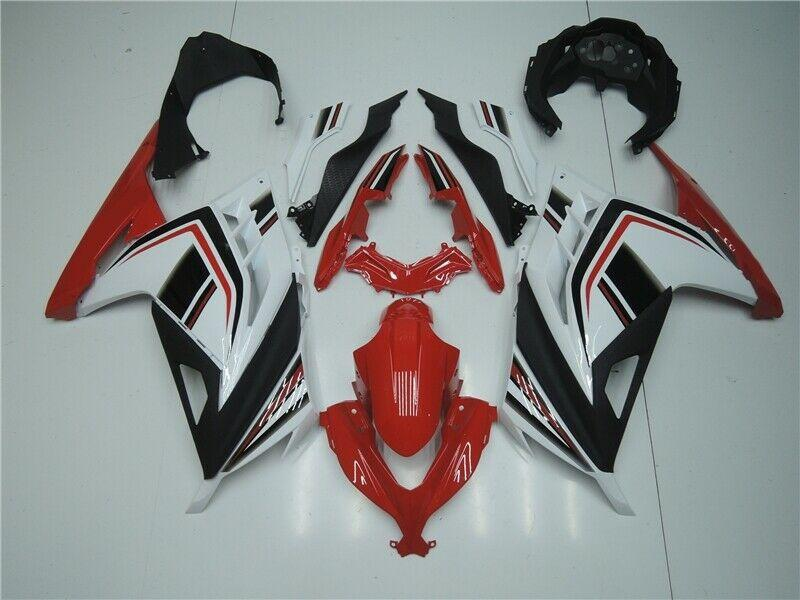 NT Aftermarket Injection ABS Plastic Fairing Fit for EX300 2013-2016 Red White Black N005 Available in CA, TX, KY