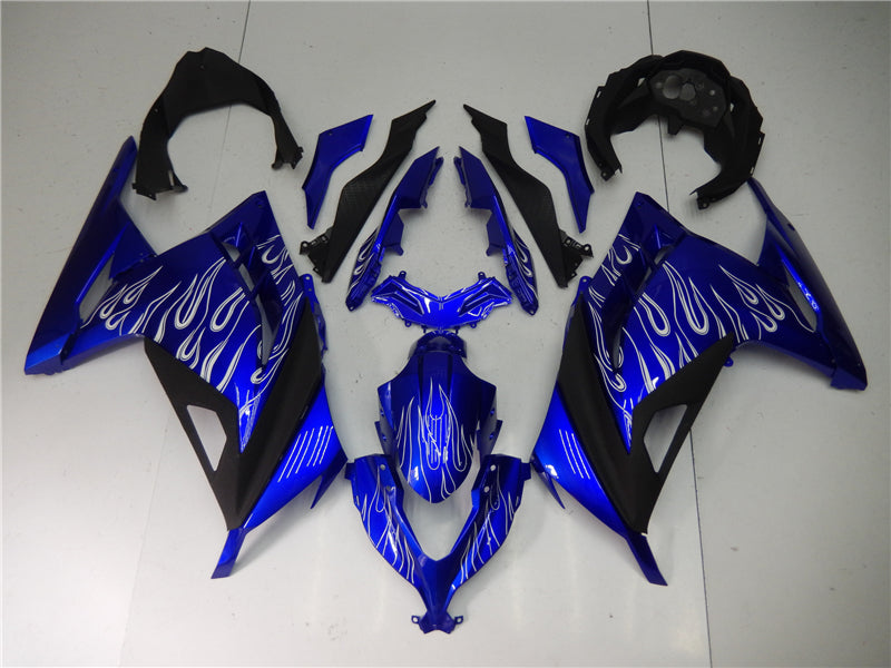 NT Aftermarket Injection ABS Plastic Fairing Fit for EX300 2013-2016 Blue White Black N009 Available in KY