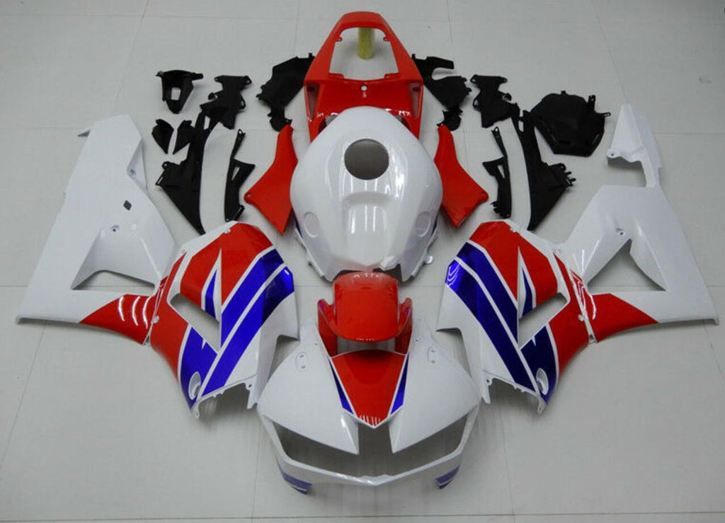NT Aftermarket Injection ABS Plastic Fairing Fit for CBR600RR 2013-2016 White Blue Red N001