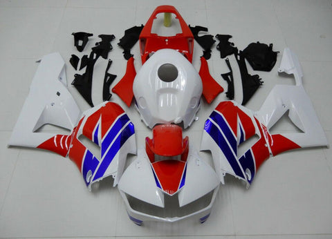 NT Aftermarket Injection ABS Plastic Fairing Fit for CBR600RR 2013-2016 White Blue Red N001 Available in CA, TX, IL