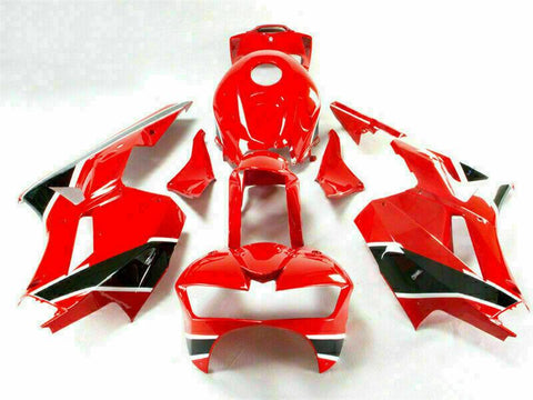 NT Aftermarket Injection ABS Plastic Fairing Fit for CBR600RR 2013-2016 Red Black N017 Available in TX IL