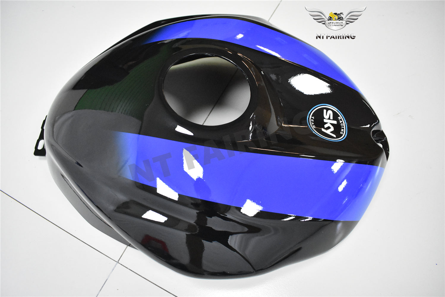 NT Aftermarket Injection ABS Plastic Fairing Fit for YZF R6 2008-2016 Blue Black PT05