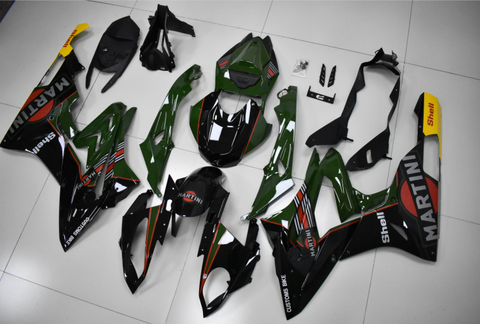 Fit for BMW 2015-2016 S1000RR Green Black Injection Mold Fairing Plastic N001 Available in CA