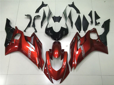 NT Aftermarket Injection ABS Plastic Fairing Fit for YZF R6 2017-2019 Red N005