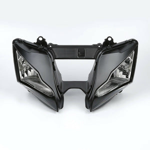 Front Motorcycle Headlight Headlamp Fit Kawasaki 2011-2014 ZX10R Available in IL