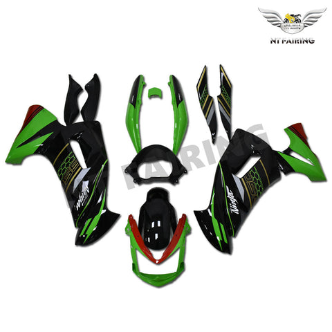 NT-FAIRING Fairing Kit Fit for Kawasaki ninja 2006-2008 650R ER6F ABS New Color Scheme (2020 NINJA 650R Color Scheme)