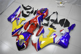 NT Aftermarket Injection ABS Plastic Fairing Fit for CBR1000RR 2017-2019 Blue Yellow Red PT02 Available in CA