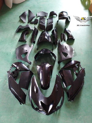 NT Unpainted Aftermarket Injection ABS Plastic Fairing Fit for ZX14R 2006-2011 Available in TX