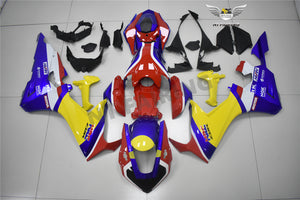 NT Aftermarket Injection ABS Plastic Fairing Fit for CBR1000RR 2017-2019 Blue Yellow Red PT02