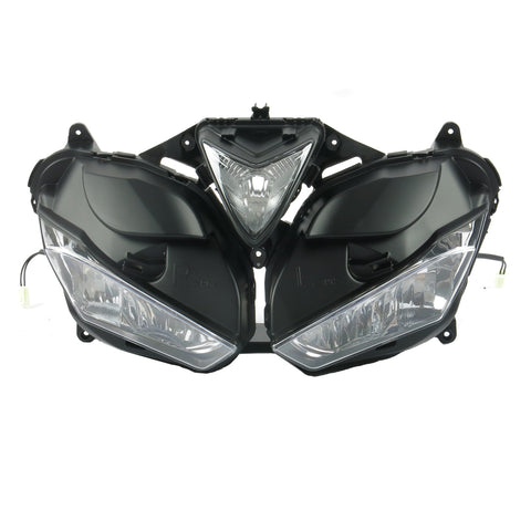 Front Motorcycle Headlight Headlamp Fit Yamaha 2014-2018 YZF R25 R3 Available in IL