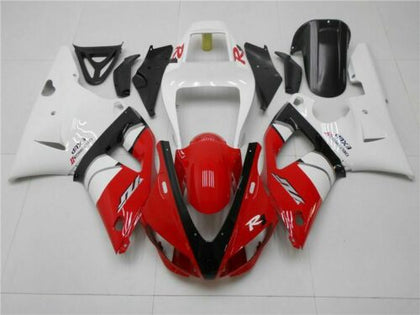 NT Aftermarket Injection ABS Plastic Fairing Fit for YZF R1 1998-1999 Red White N021 Available in IL