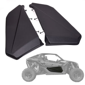 NT Fairing Lower Door Panels Insert Kit for Can Am Maverick X3 2 Door UTV Parts Available in IL