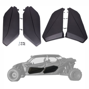 NT Fairing Lower Door Panels Insert Kit for Can Am Maverick X3 4 Door UTV Parts Available in IL
