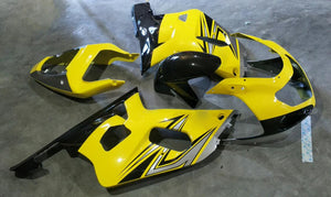MSB Injection Mold Yellow Fairing Fit for Suzuki 2001-2003 GSXR 600 750 N061