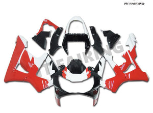 NT Aftermarket Injection ABS Plastic Fairing Fit for CBR929RR 2000-2001 Black White Red N003