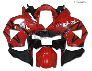 NT Aftermarket Injection ABS Plastic Fairing Fit for CBR954RR 2002-2003 Red Black N001 Available in TX