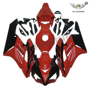 NT Aftermarket Injection ABS Plastic Fairing Fit for CBR1000RR 2004-2005 Red Black N049 Available in IL