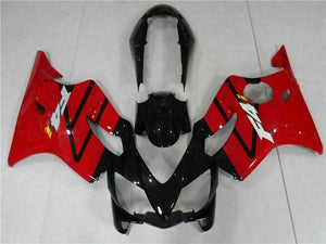 NT Aftermarket Injection ABS Plastic Fairing Fit for CBR600 F4i 2004-2007 Red Black N003