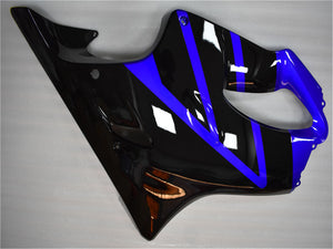 NT Aftermarket Injection ABS Plastic Fairing Fit for CBR600 F4i 2004-2007 Blue Black N016 Available in CA, IL